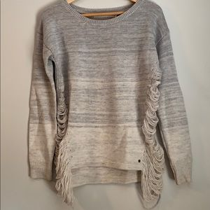 Authentic One Grey Day wool sweater